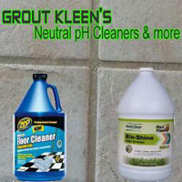 Neutral Tile, Grout and Stone Cleaning Products