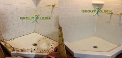 Shower regrouting