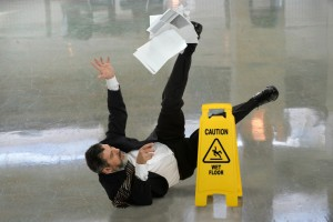 Prevent slip and fall accidents